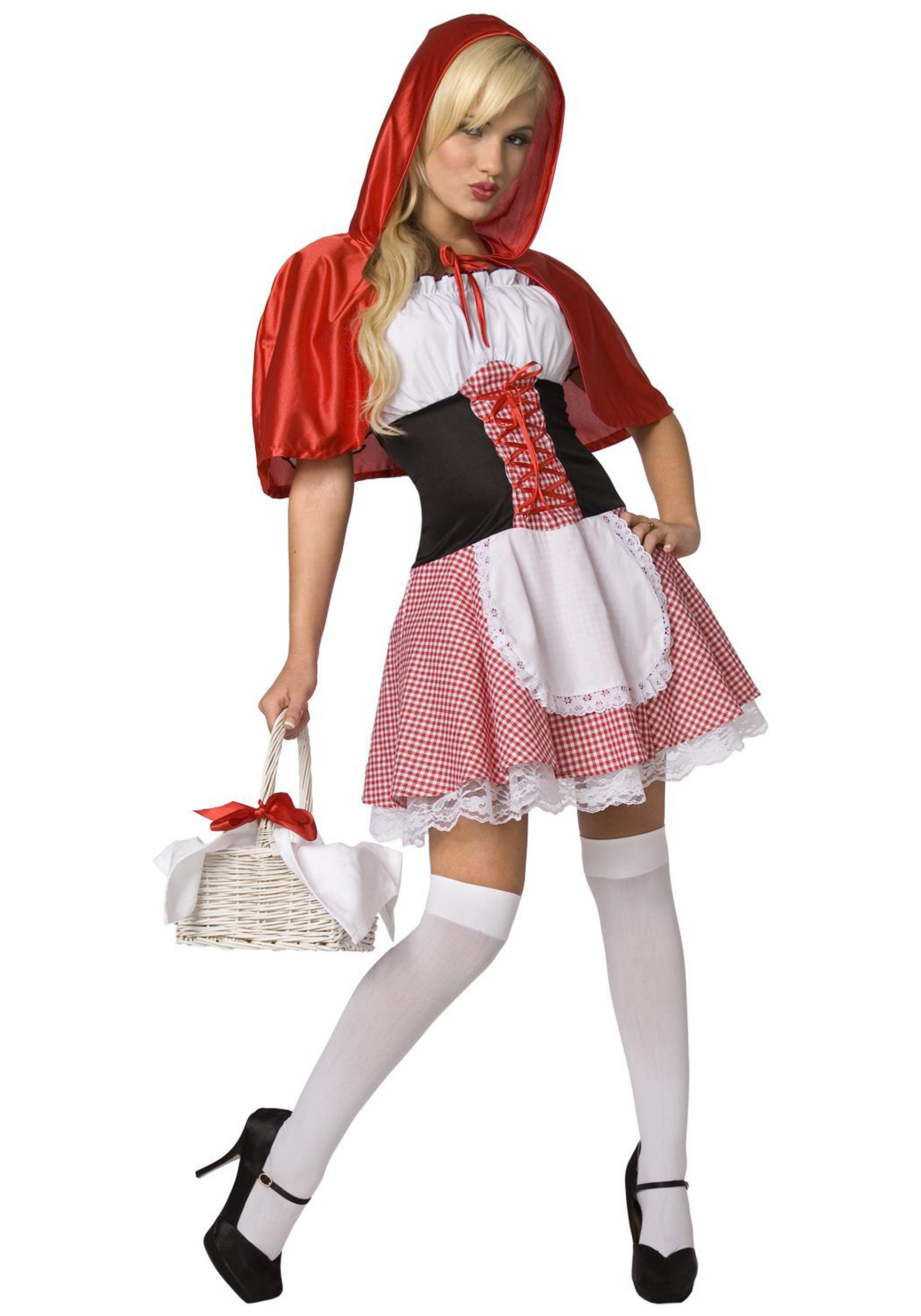 Sexy Red Riding Hood Costume | Storybook Character Costume