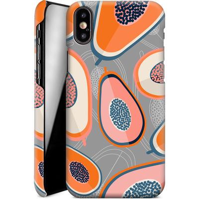 Apple iPhone XS Smartphone Huelle - Papayas von Susana Paz