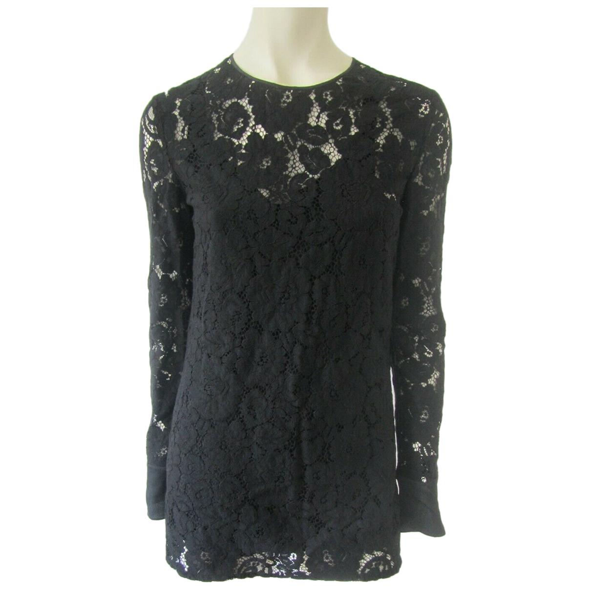 Lanvin \N Black Lace  top for Women 36 FR