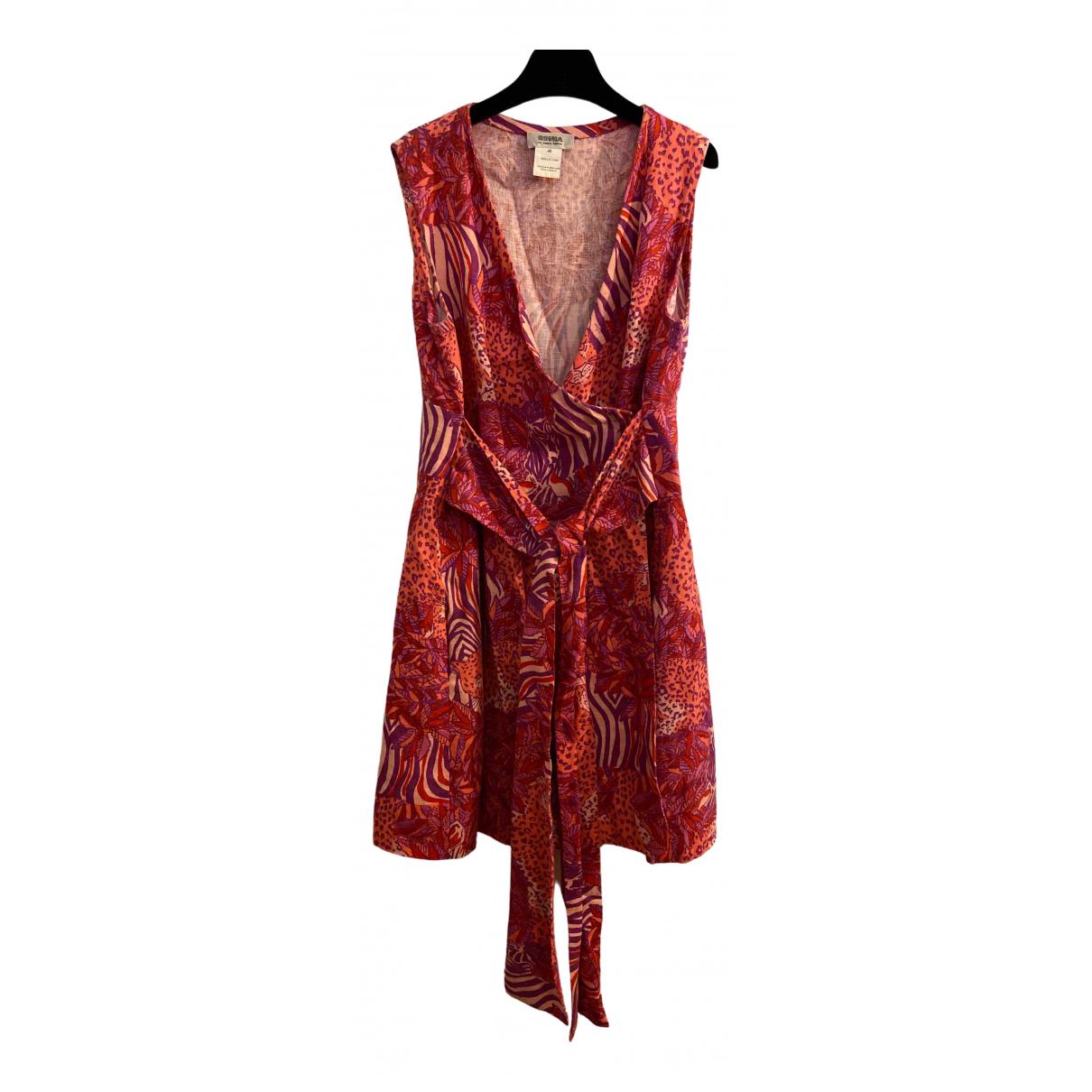 Sonia By Sonia Rykiel \N Pink Linen dress for Women 40 IT