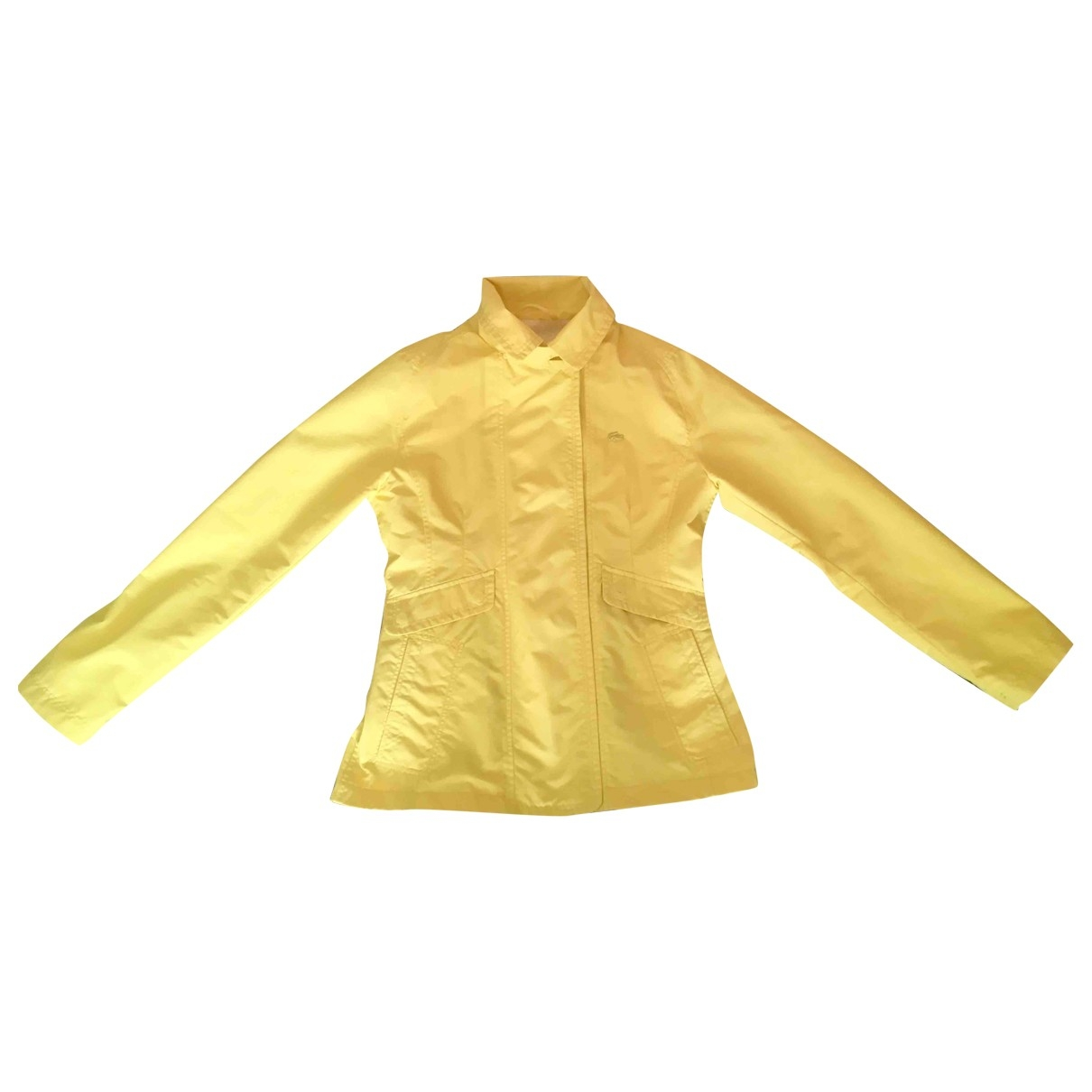 Lacoste \N Yellow jacket for Women 38 FR