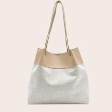 Two Tone Tote Bag
