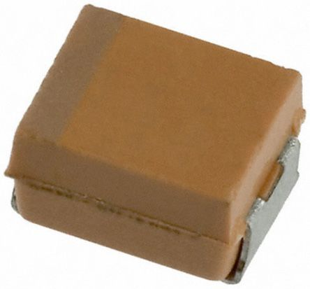 AVX 47μF Niobium Capacitor 6.3V dc ±20% Surface Mount 3.5mm NOJ Series (2000)