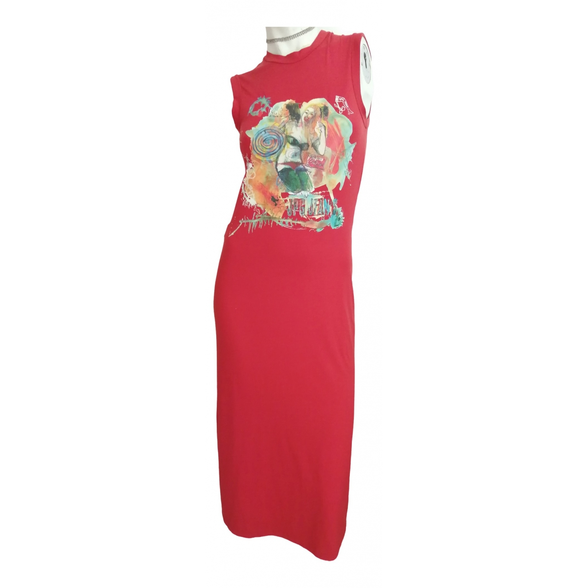 Jean Paul Gaultier N Red dress for Women 36 FR