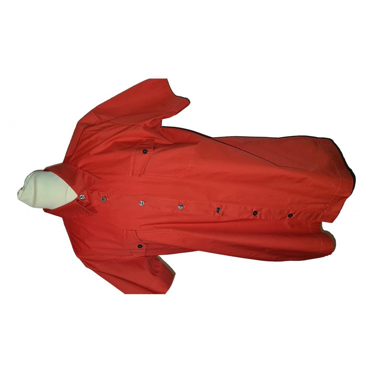 Hugo Boss - Chemises   pour homme en coton - rouge