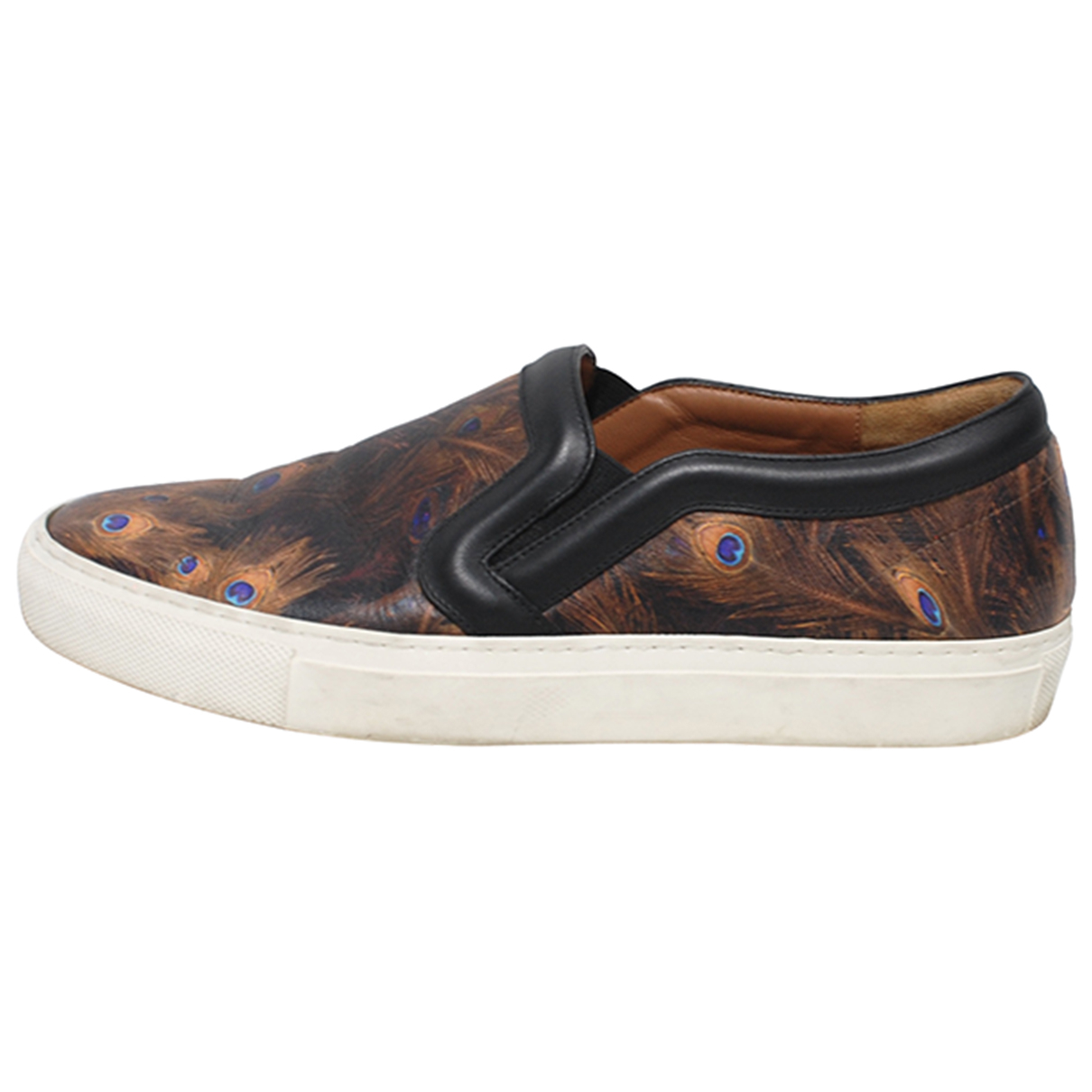 Givenchy \N Brown Leather Trainers for Women 37 IT
