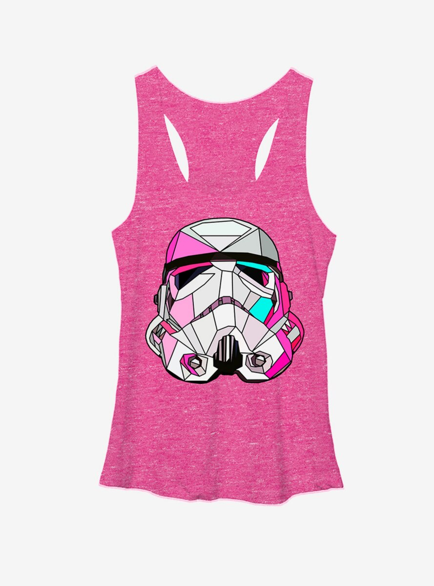 Star Wars Stained Glass Stormtrooper Womens Tank