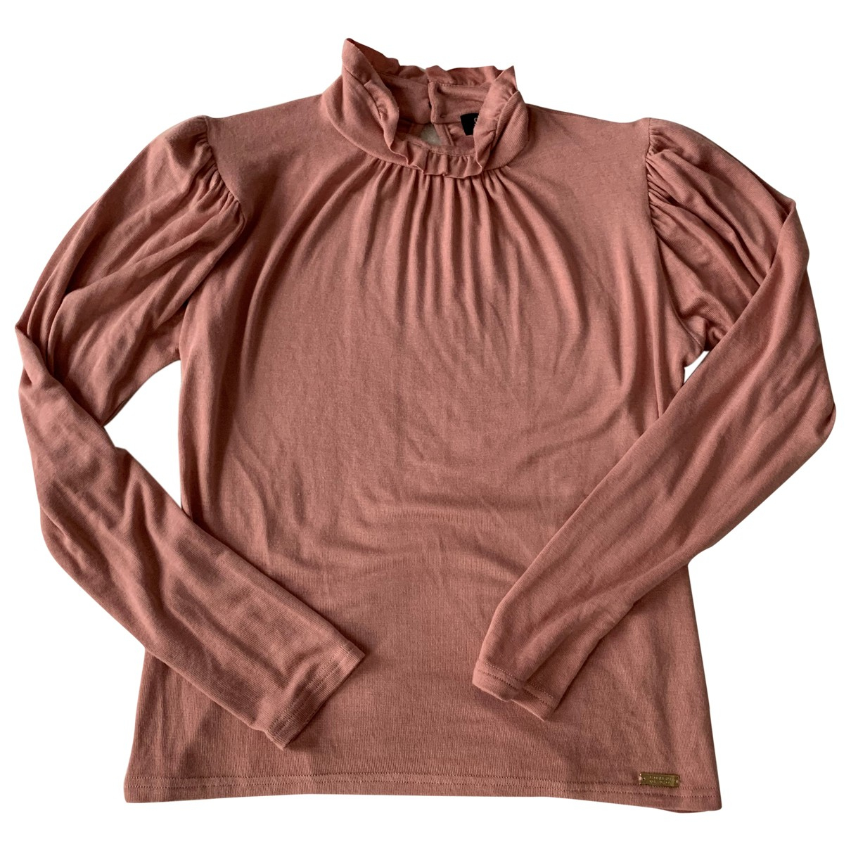 Non Signé / Unsigned N Pink  top for Women S International