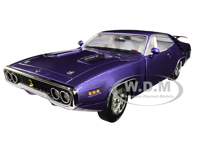 1971 Plymouth Road Runner 4406 Hardtop In Violet