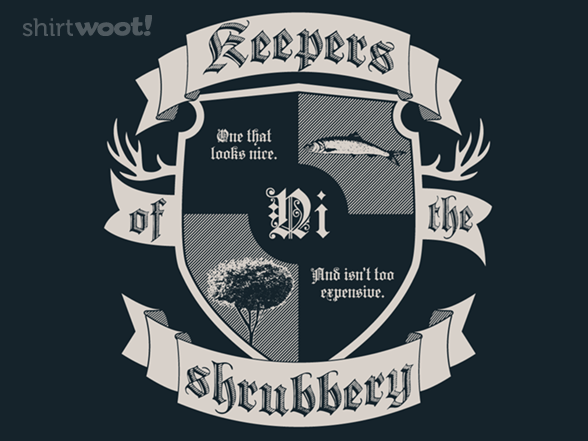 Keepers Of The Shrubbery T Shirt