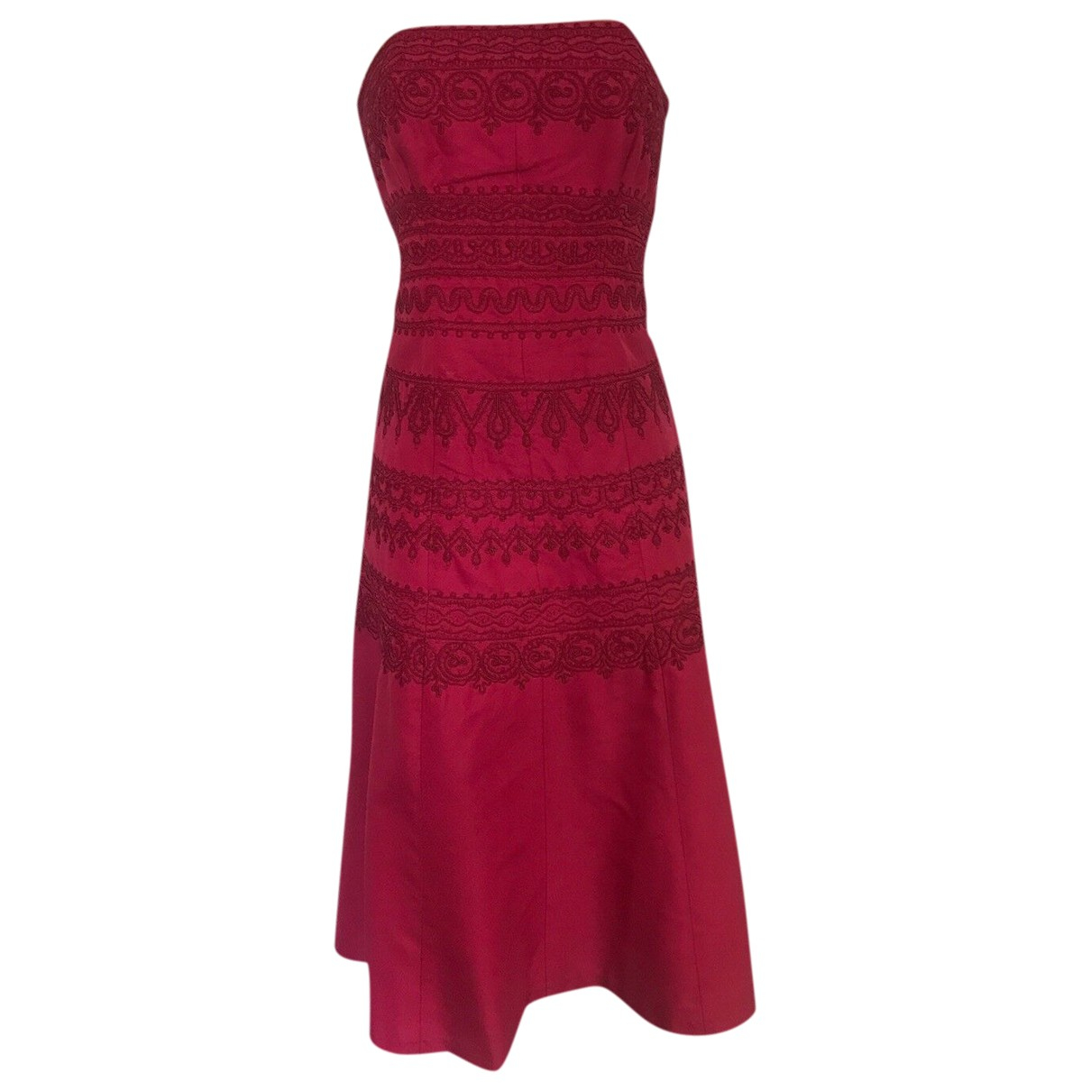 Coast \N Red Silk dress for Women 40 FR