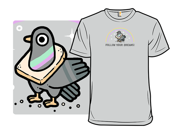 Pigeon Dreams T Shirt