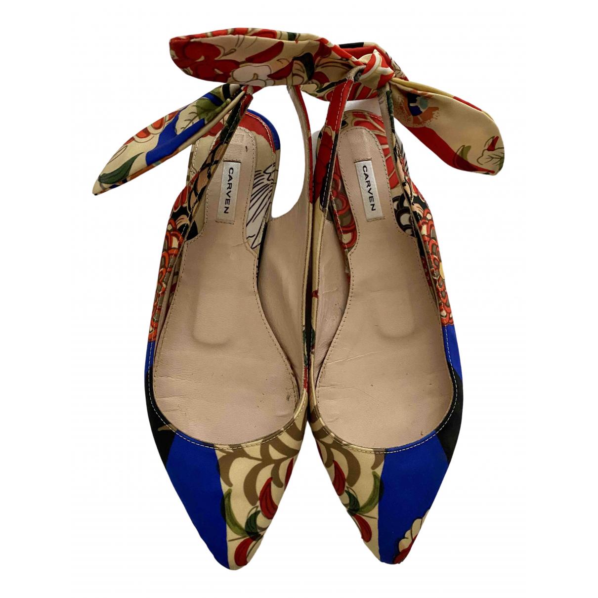 Sandalias de Lona Carven