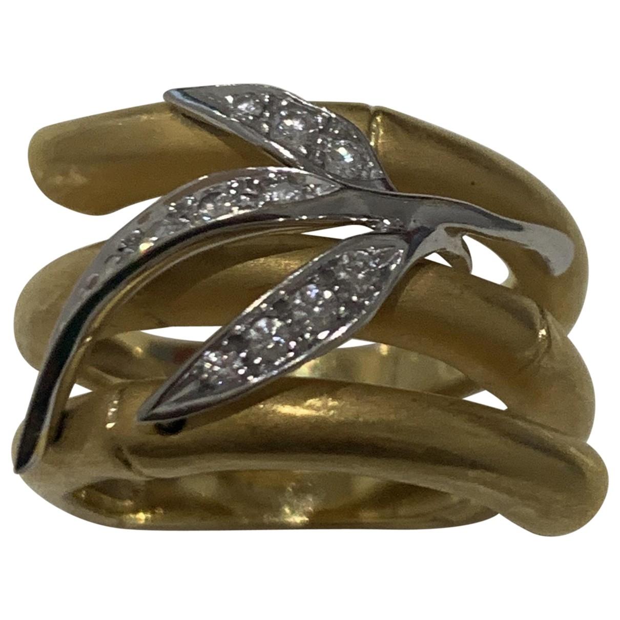 Carrera Y Carrera - Bague   pour femme en or jaune - dore
