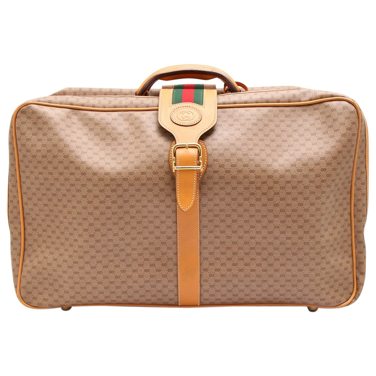 Gucci N Beige Cloth Travel bag for Women N