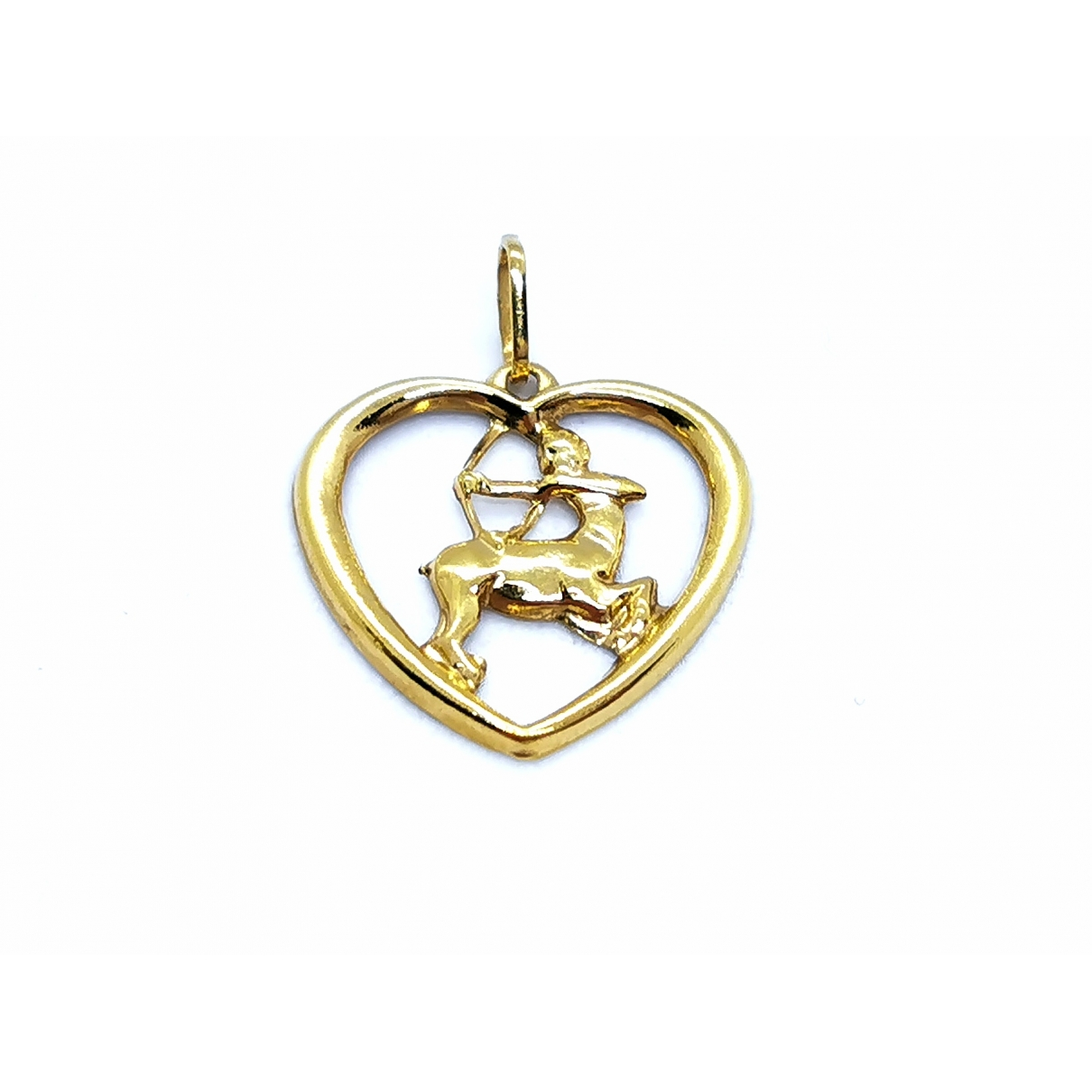 Non Signé / Unsigned \N Gold Yellow gold pendant for Women \N