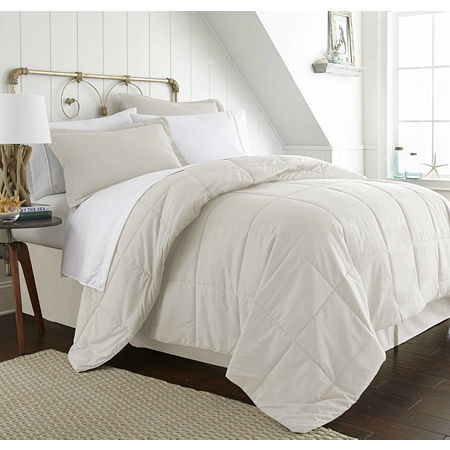 Casual Comfort Casual Comfort Premium Ultra Soft Complete Bedding Set with Sheets, One Size , Beige