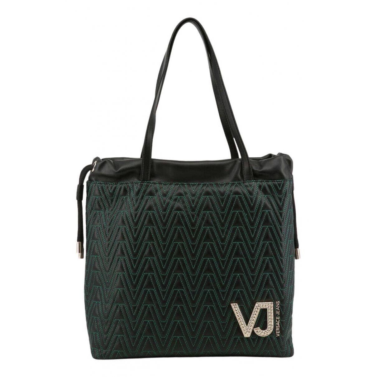 Versace Jeans \N Handtasche in  Gruen Synthetik