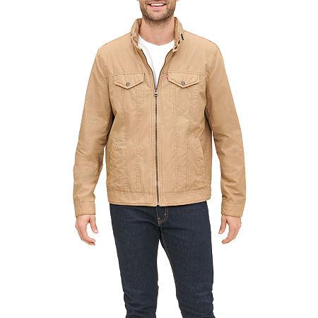 Levi's Men's Cotton Military Jacket, Xx-large , Beige