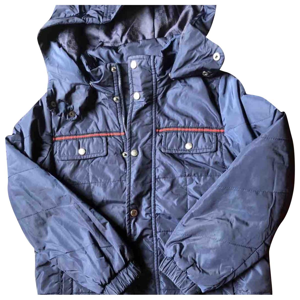 Gucci - Blousons.Manteaux   pour enfant - bleu