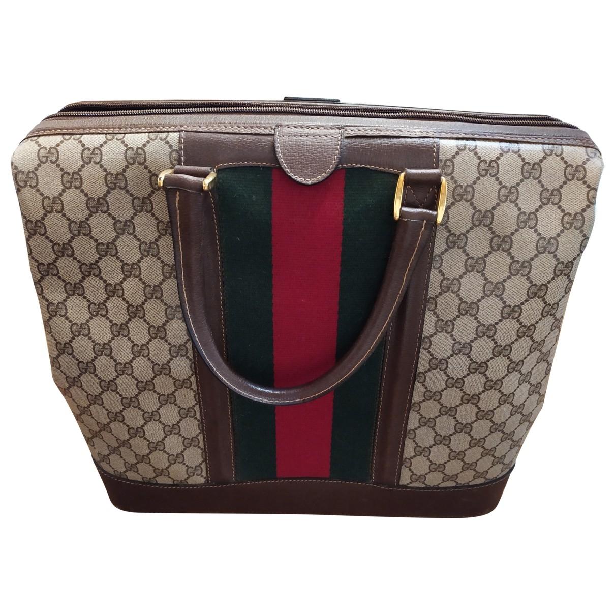 Gucci Ophidia Beige Leather handbag for Women \N