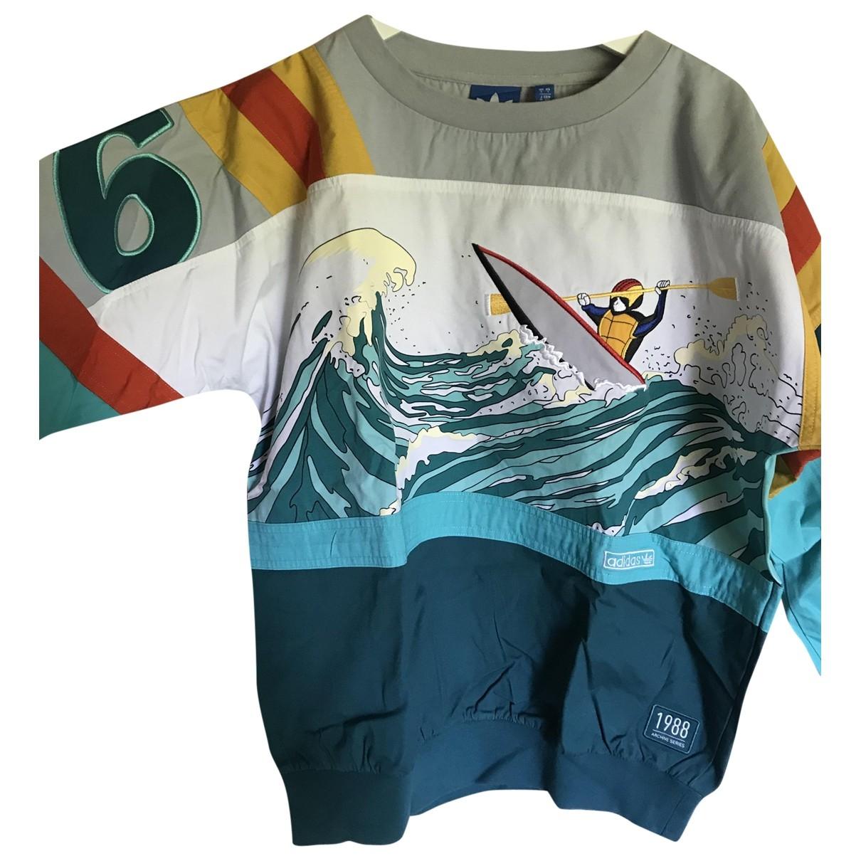 Adidas \N Turquoise Cotton Knitwear & Sweatshirts for Men S International