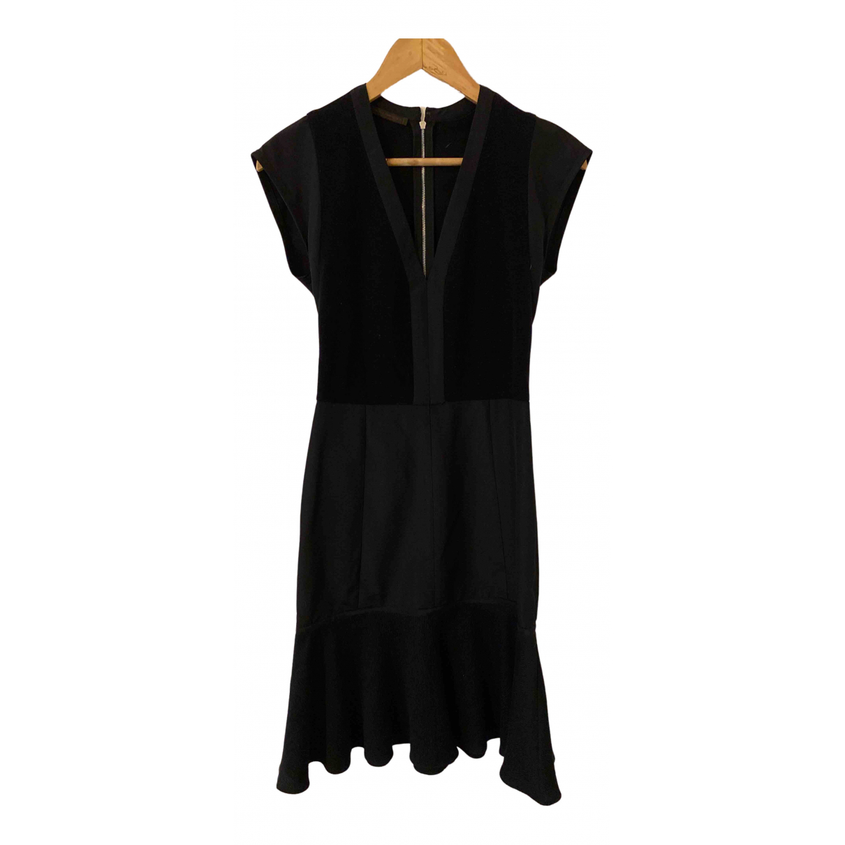 Narciso Rodriguez N Black Silk dress for Women 8 UK