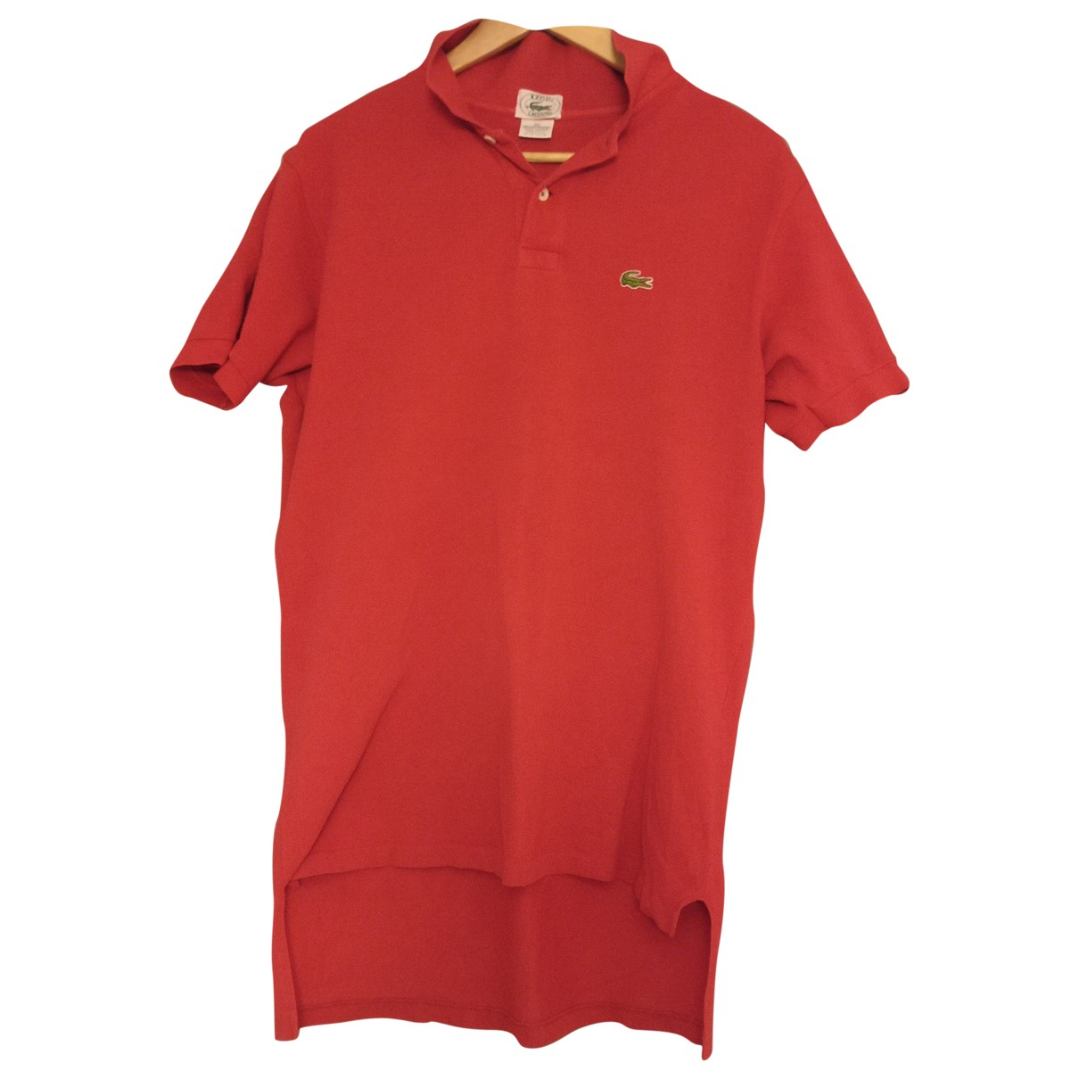 Lacoste \N Red Cotton Polo shirts for Men XL International