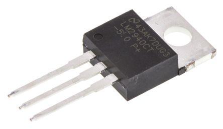 Texas Instruments LM2940CT-5.0/NOPB, LDO Regulator, 1A, 5 V 3-Pin, TO-220