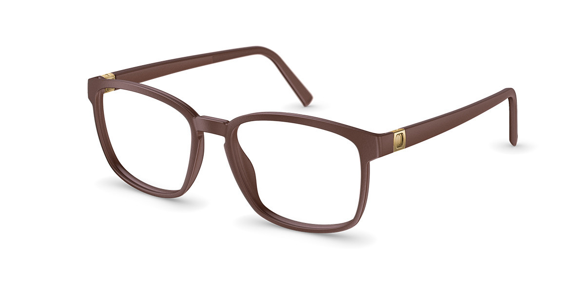 Neubau T088 David 6030 Men's Glasses Brown Size 52 - Free Lenses - HSA/FSA Insurance - Blue Light Block Available