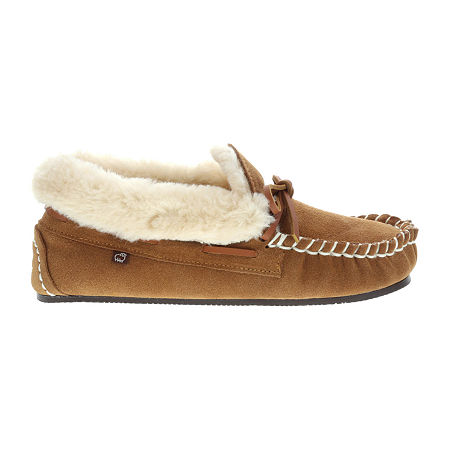 Lamo Womens Mila Moc Moccasins, 7 Medium, Brown