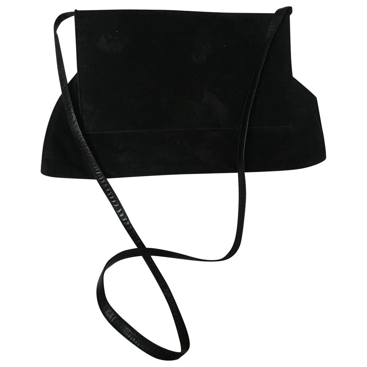 Charles Jourdan - Pochette   pour femme en cuir - noir