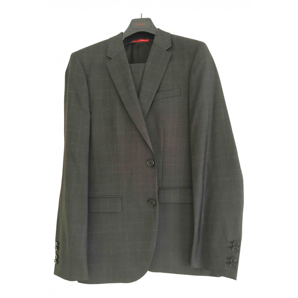 Hugo Boss \N Anthracite Wool Suits for Men 48 FR