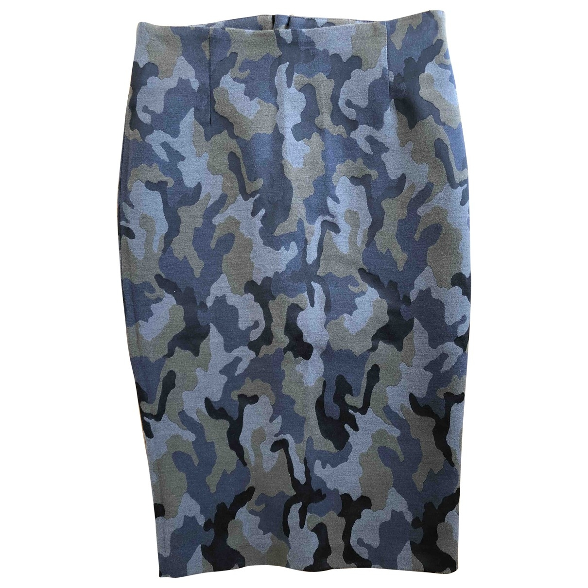 Pinko \N Multicolour Cotton - elasthane skirt for Women 38 IT