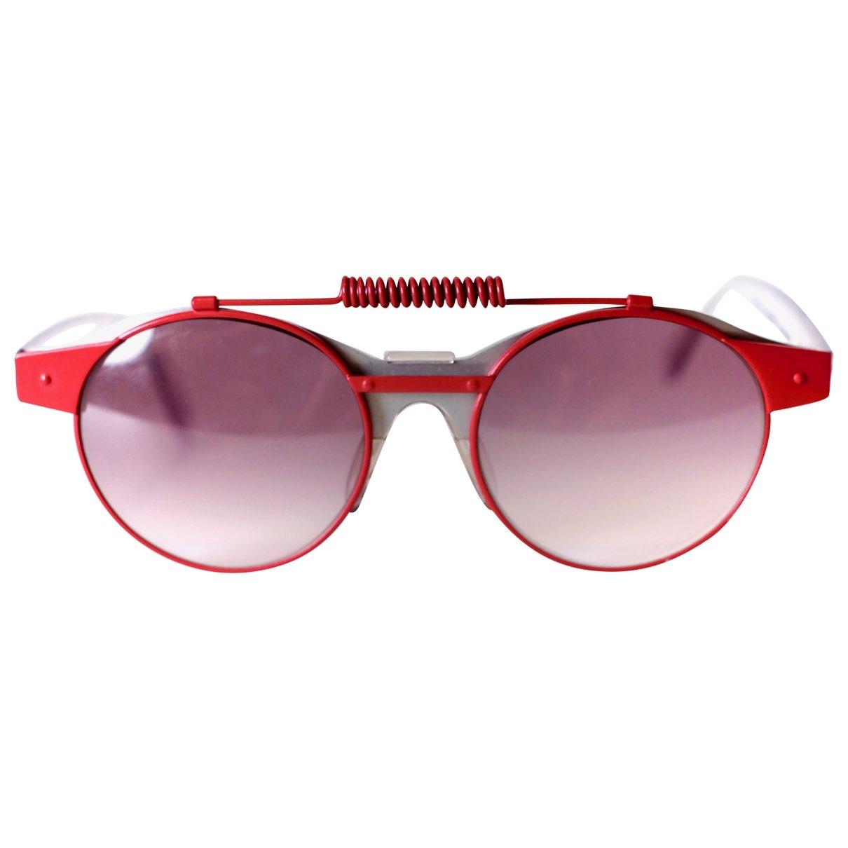 Swatch \N Sonnenbrillen in  Rot Kunststoff