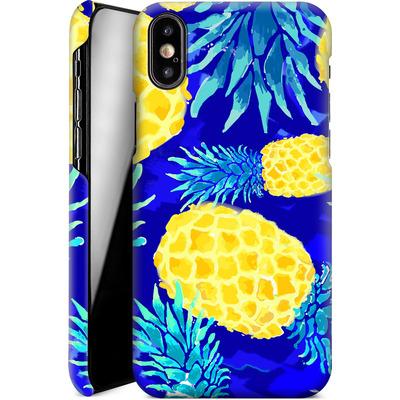 Apple iPhone X Smartphone Huelle - Pineapple Crush von Mukta Lata Barua
