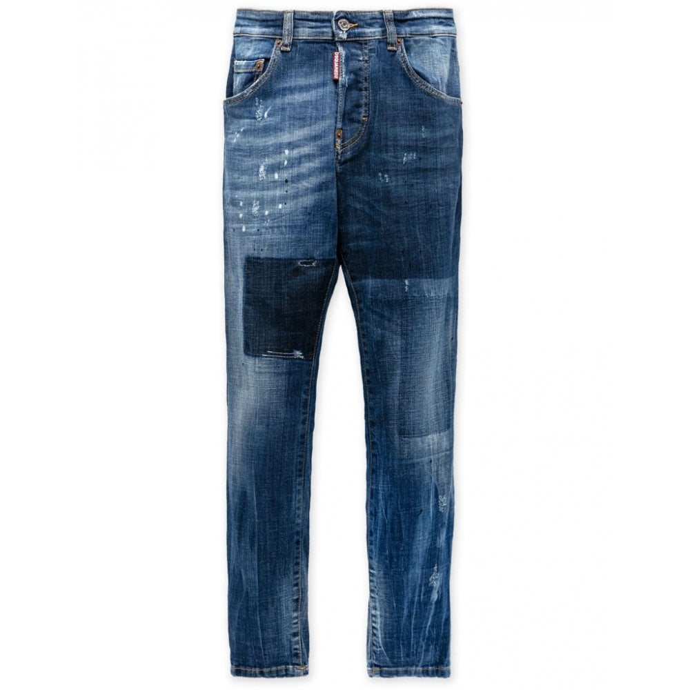 Dsquared2 Skater Jeans Colour: BLUE, Size: 12 YEARS