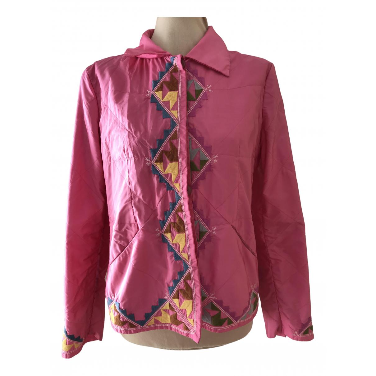 Ermanno Scervino N Pink jacket for Women 44 IT