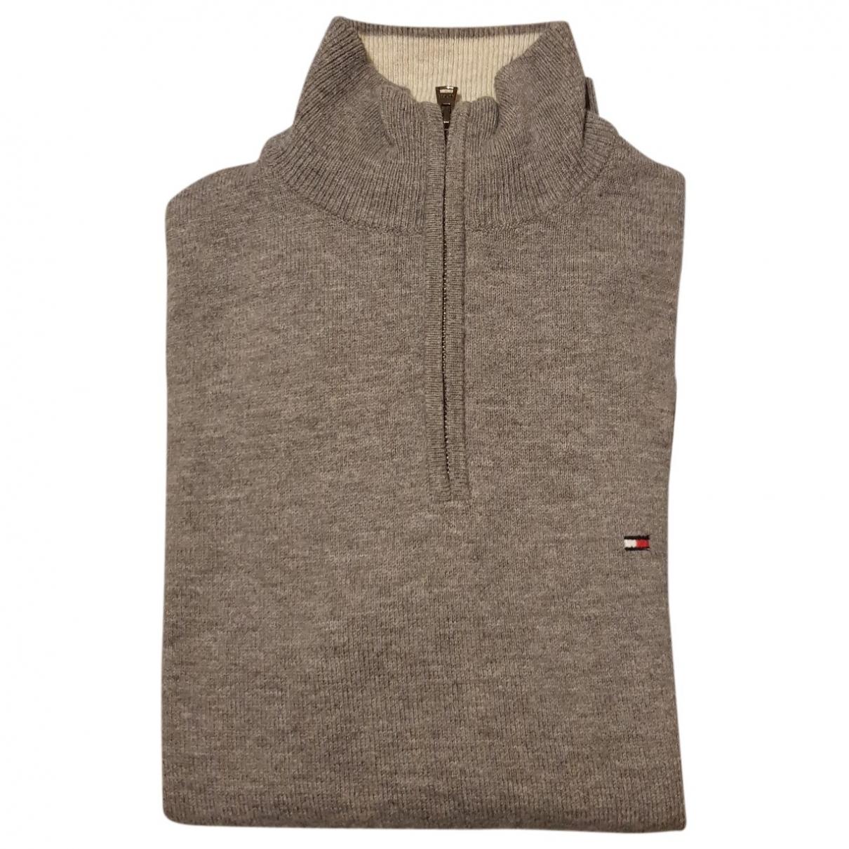 Tommy Hilfiger \N Pullover.Westen.Sweatshirts  in  Grau Baumwolle