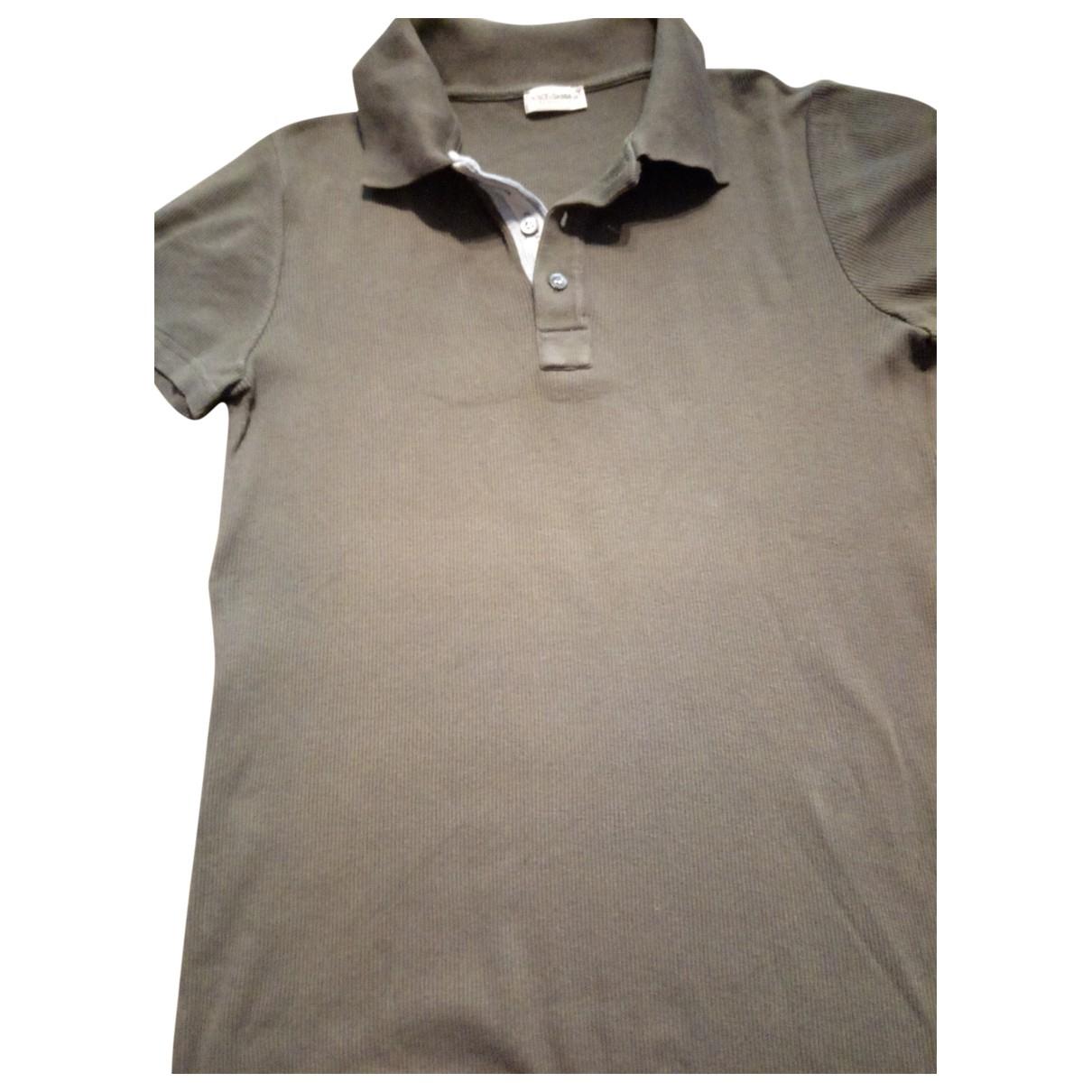 Dolce & Gabbana \N Green Cotton Polo shirts for Men S International