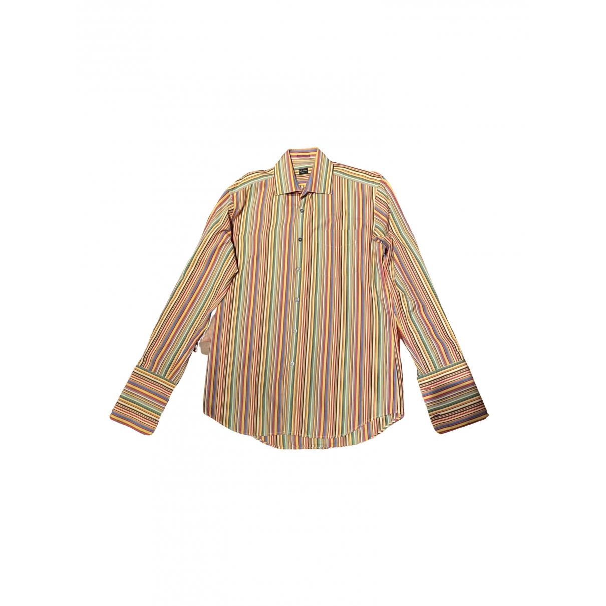 Paul Smith - Chemises   pour homme en coton - multicolore