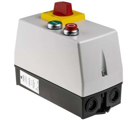 RS PRO 5.5 kW DOL Starter, 400 V ac, 3 Phase, IP65
