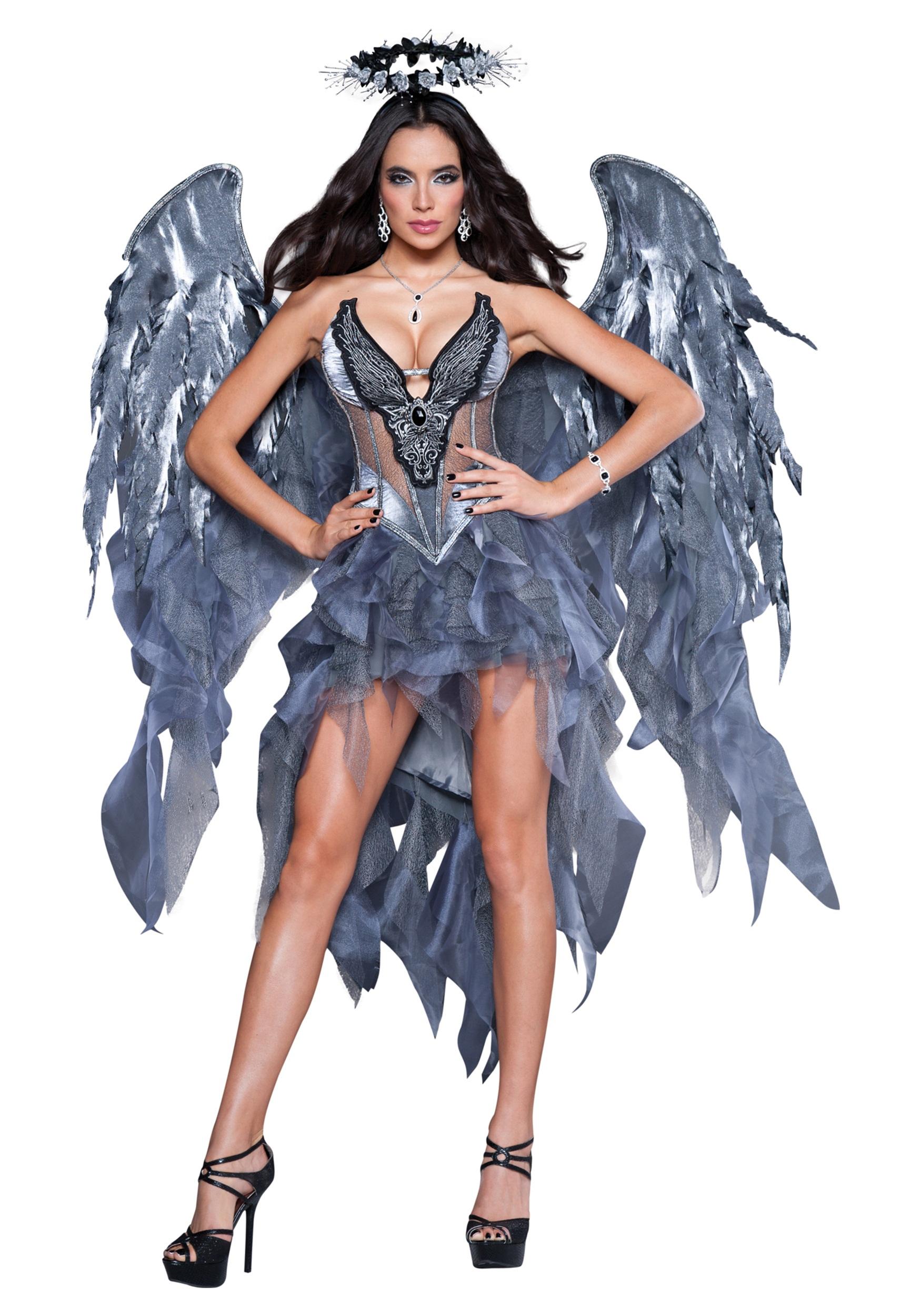 Adult Dark Angel's Desire Costume | Sexy Halloween Costume