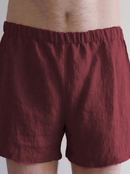 Yoins Men Summer Linen Elastic Waist Leisure Home Shorts