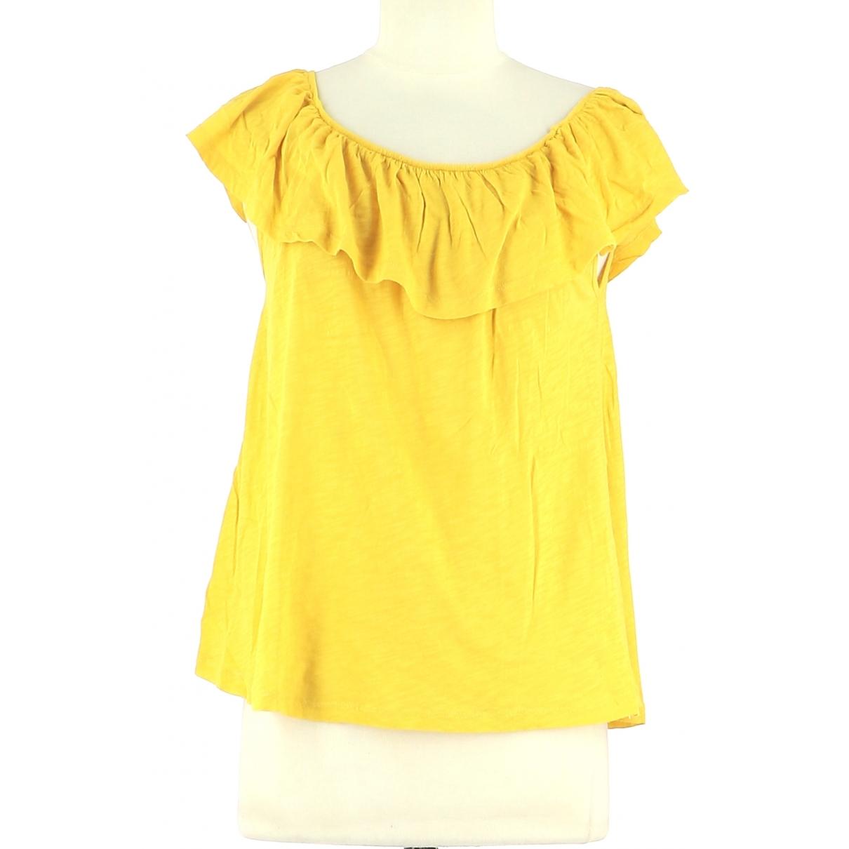 Ba&sh \N Top in  Gelb Baumwolle