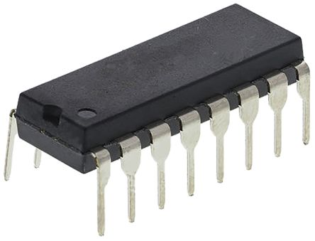 Texas Instruments CD4520BEE4 Dual 4-stage Binary Counter, Up Counter, , Uni-Directional, 16-Pin PDIP (5)