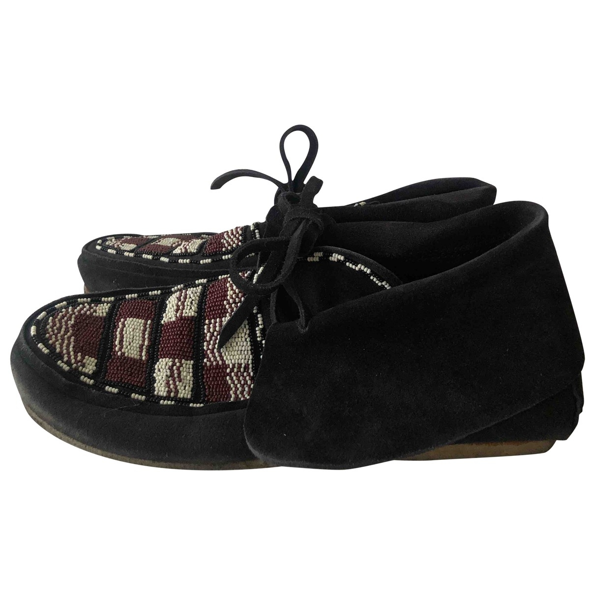 Isabel Marant \N Black Leather Flats for Women 39 EU