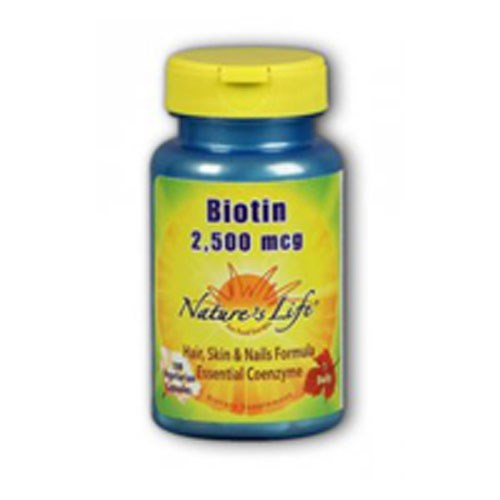 Biotin 100 caps by Natures Life