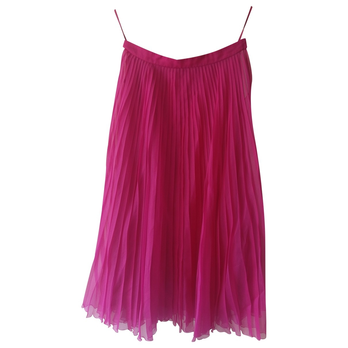 Gucci \N Pink Silk skirt for Women 42 IT