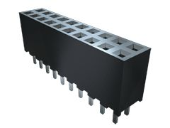 Samtec , SQW 2mm Pitch 16 Way 2 Row Vertical PCB Socket, Surface Mount, Solder Termination (34)
